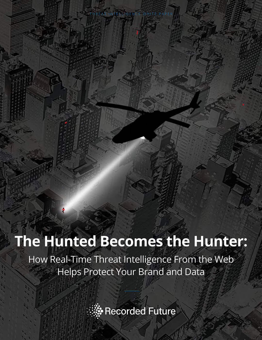 Example white paper cover design threat intelligence