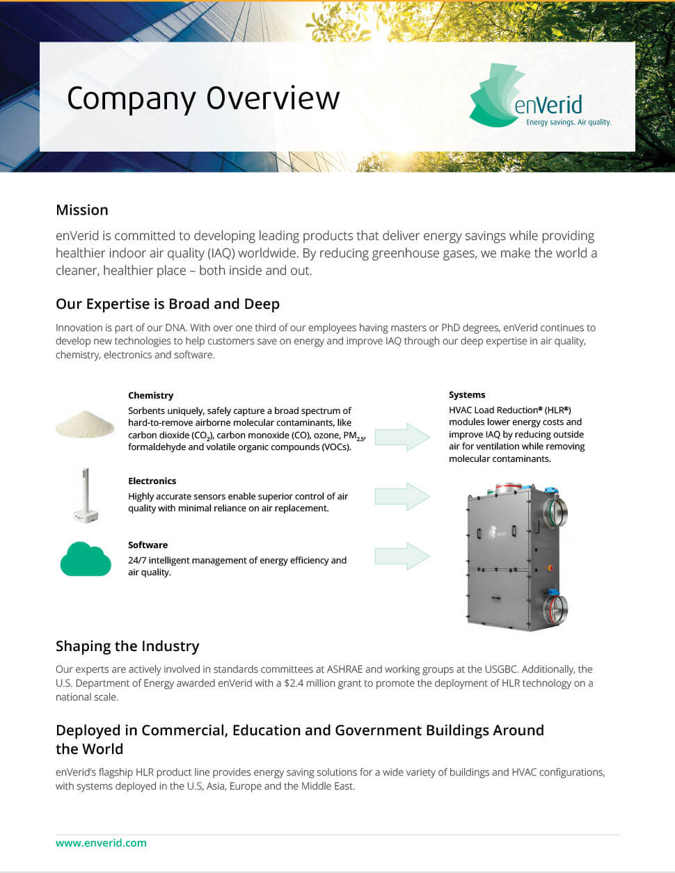 Company overview design